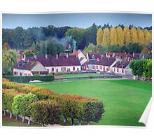 Loire Countryside Poster