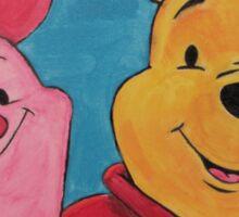 Disney Winnie-the-Pooh Fan Art Sticker