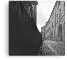 City of York Back Street Metal Print
