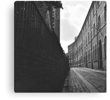 City of York Back Street Canvas Print