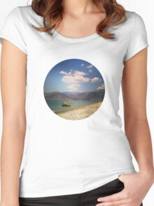 seaside3 Women's Fitted Scoop T-Shirt
