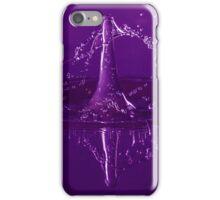 Violet Waterdrop iPhone Case/Skin