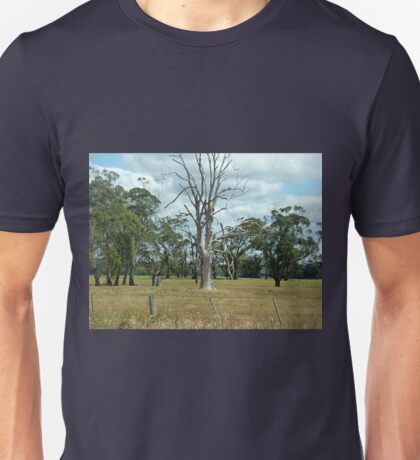 Dead Tree - still Beautiful - Road to PortFairy, Vic. Australia Unisex T-Shirt