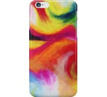 """Fiesta Nocturna"" original abstract landscape by Laura Tozer iPhone Case/Skin"