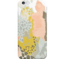 Upton - Modern abstract painting in bright and colors that pop but soothe iPhone Case/Skin
