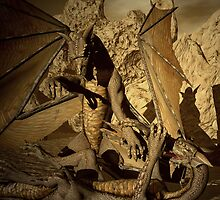 Fighting Amongst Dragons by Lisa  Weber