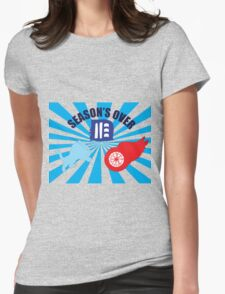 Detroit Tigers, Lions, and Red Wings Womens Fitted T-Shirt