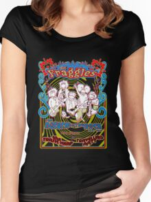 Fraggles - return to the rock tour Tee Women's Fitted Scoop T-Shirt