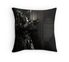 Secrets Unfurled Throw Pillow