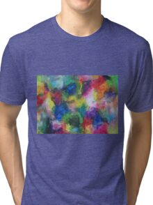 """""""In a Dream"""" original abstract artwork by Laura Tozer Tri-blend T-Shirt"""