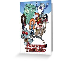 Adventure Time Lord 11 Greeting Card