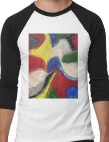 """Exuberance"" original abstract artwork by Laura Tozer Men's Baseball ¾ T-Shirt"