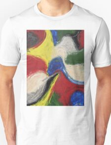 """Exuberance"" original abstract artwork by Laura Tozer T-Shirt"