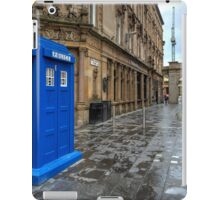 Glasgow Police Box  iPad Case/Skin