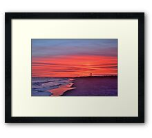 Sullivans SC Sunset Framed Print