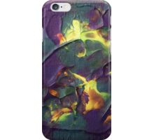 """Crystallised"" original abstract artwork by Laura Tozer iPhone Case/Skin"