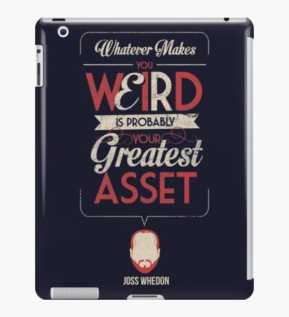 Whatever Makes You Weird iPad Case/Skin