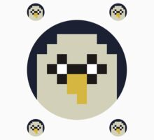 8-bit Gunter Sticker by d13design