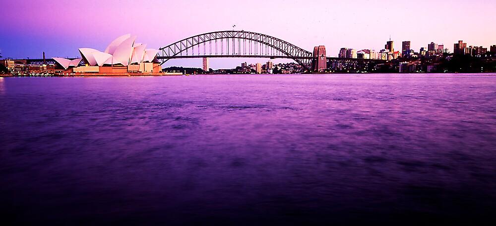 Sydney Harbour by bobovoz