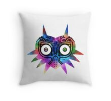 Majora's Mask Color Throw Pillow