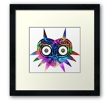 Majora's Mask Color Framed Print