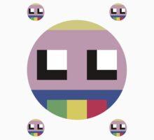 8-bit Lady Rainicorn Sticker by d13design
