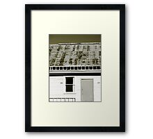the community hall Framed Print