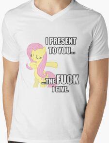 Fluttershy's Fucks Mens V-Neck T-Shirt