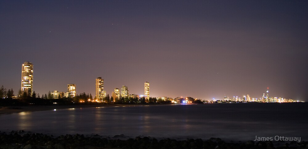 Burleigh at Dusk by James Ottaway