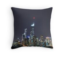 Q1 by Night Throw Pillow