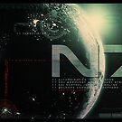 Mass Effects N7 monitor shot by thatstickerguy
