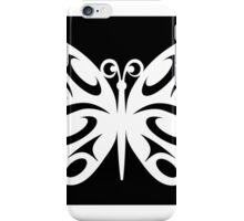 Butterfly White & Black iPhone Case/Skin
