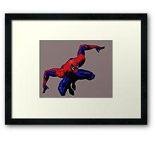 Friendly Neighborhood Spiderman Framed Print