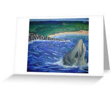 Independance Beach Greeting Card