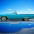 1957 Ford Thunderbird 3 by DaveKoontz