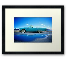 1957 Ford Thunderbird 3 Framed Print