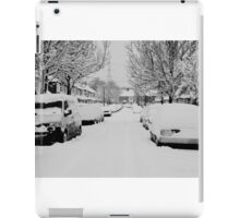 Snow Street Scene iPad Case/Skin