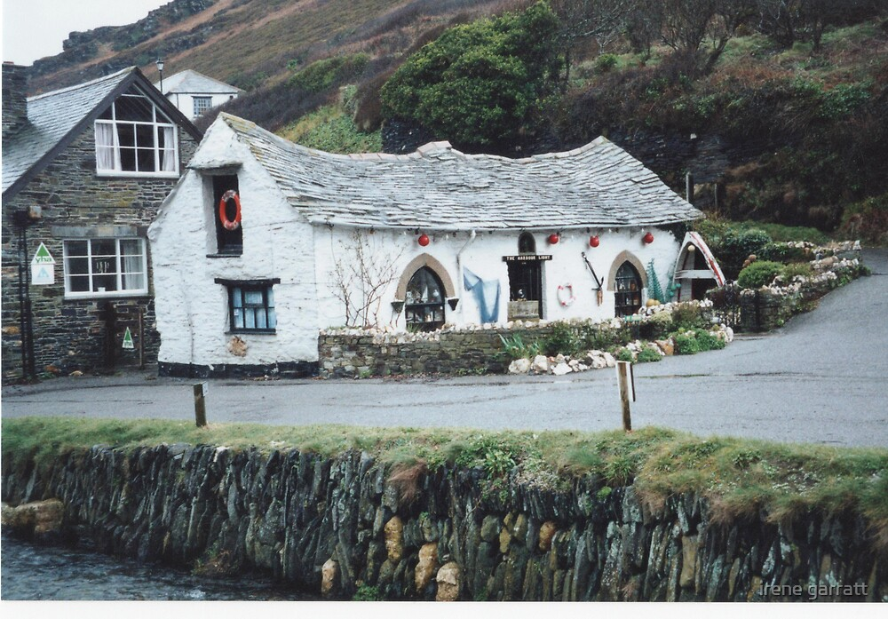 The Olde Shoppe in Boscastle by irene garratt