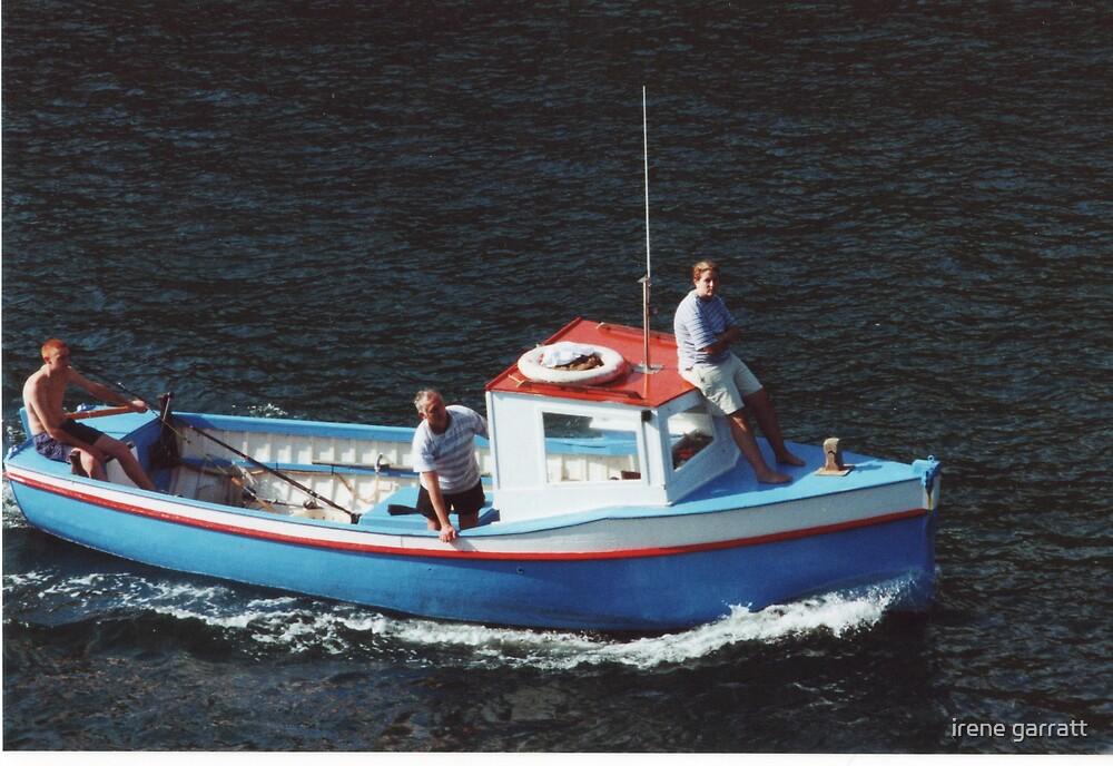 A boat trip by irene garratt