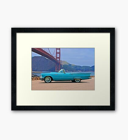 1957 Ford Thunderbird 4 Framed Print