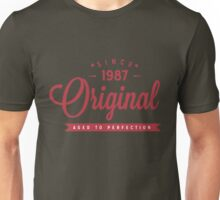 Since 1987 Original Aged To Perfection Unisex T-Shirt
