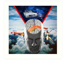 Mental Floss (Staring Bruce Willis) Art Print