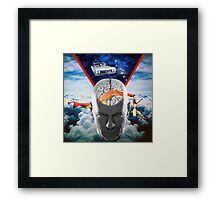Mental Floss (Staring Bruce Willis) Framed Print
