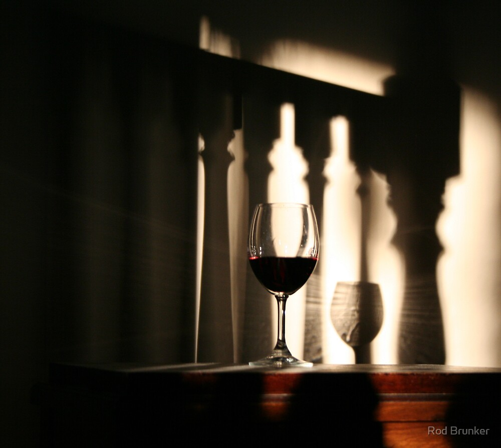 Wine Glass by Rod Brunker