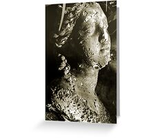 sepia bust Greeting Card