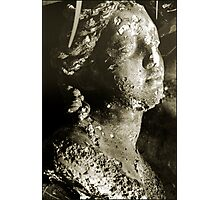 sepia bust Photographic Print