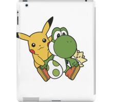 Yoshi, Pikachu and Togepi iPad Case/Skin