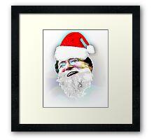 Merry Christmas GabeN (Glow) Framed Print
