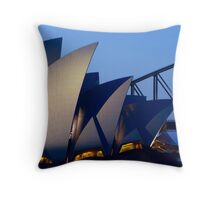 Twilight Shapes Throw Pillow