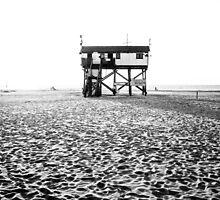stilt house at the beach by novopics